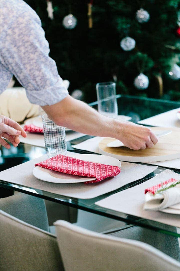 Scandi Christmas Ideas Table Setting Ideas on The Life Creative