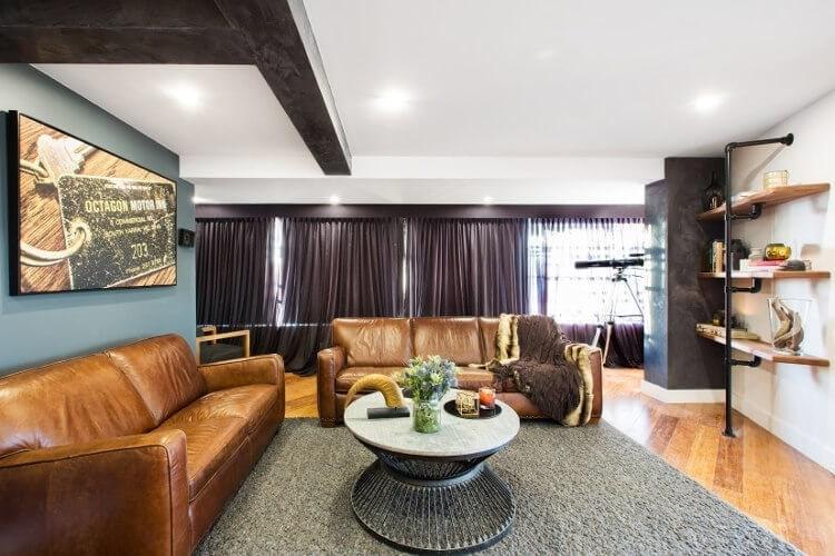 The Blocktagon Kingi and Caro Living Room Redo