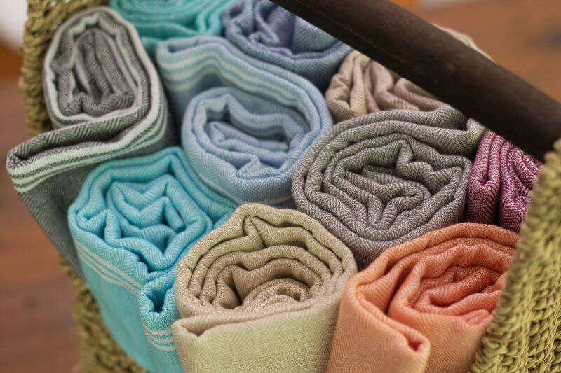 Peshtemal Turkish Towels by Aegean Loom in The Life Creative Shop