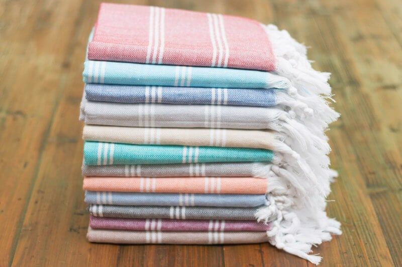 Peshtemal Turkish Towels by Aegean Loom on The Life Creative