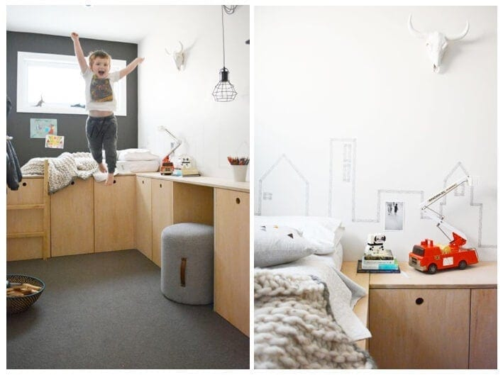 Scandinavian Design Kids Room Ideas on The Life Creative