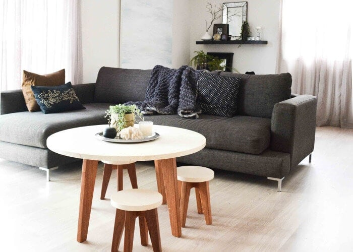Scandinavian Design Scandi living room ideas on The Life Creative