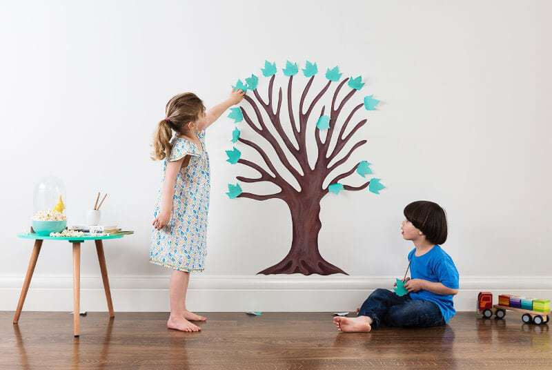 Tree of Gratitude by Wallitude on TLC Interiors