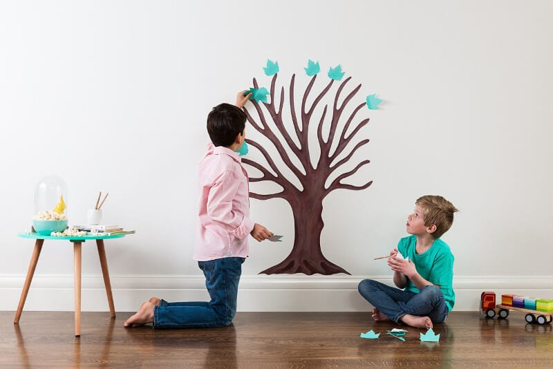 Wallitude Tree of Gratitude on TLC Interiors