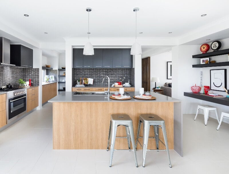 Grey Kitchen Ideas Grey and Red Kitchen Colours on The Life Creative