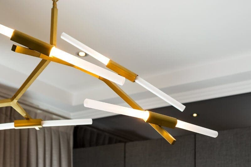 High Street Style Gold Pendant Light Metricon Homes