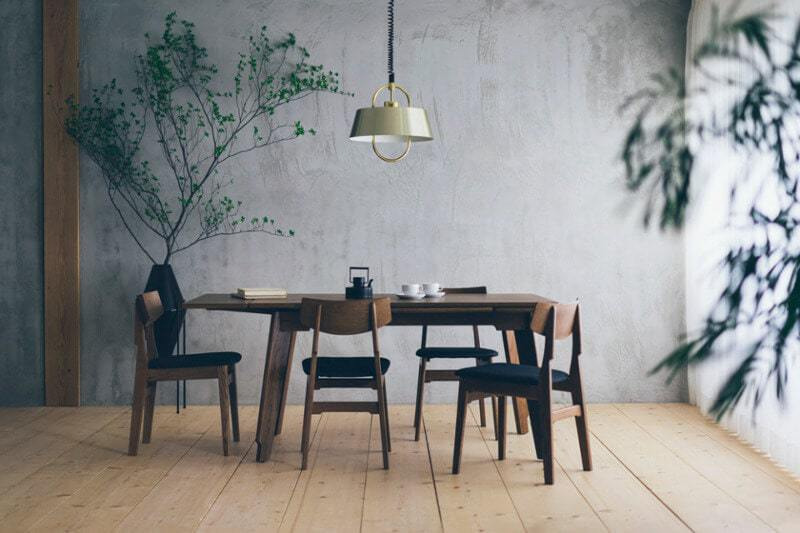 Interior design trends 2016 minimal Japanese dining room