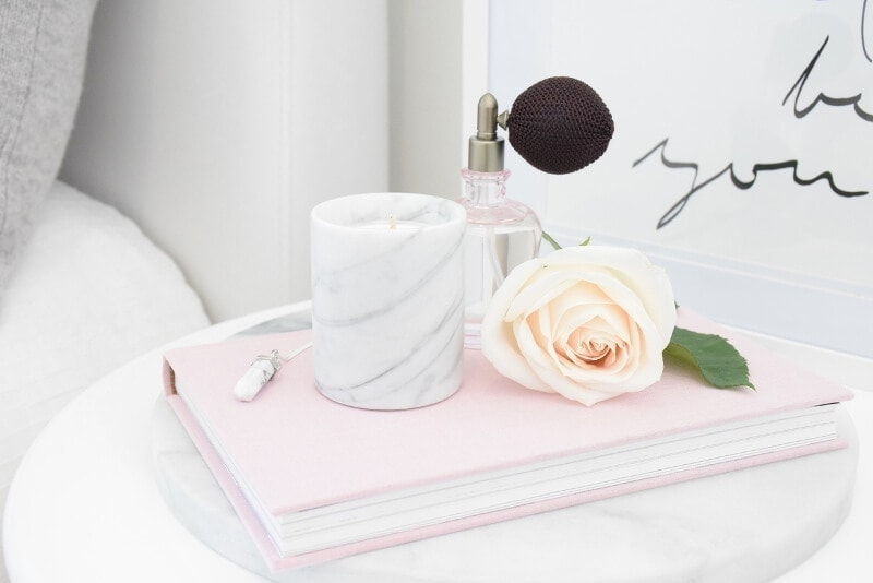 Marble Candle by Lovely Pair marble homewares on The Life Creative