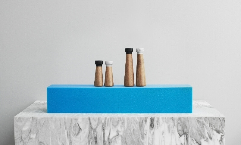 Marble Salt and Pepper Grinders marble homewares on The Life Creative