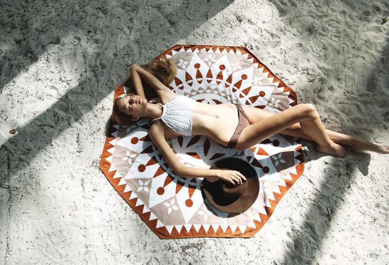 Sihaya Octagonal Beach Towel by Cultured Me on The Life Creative