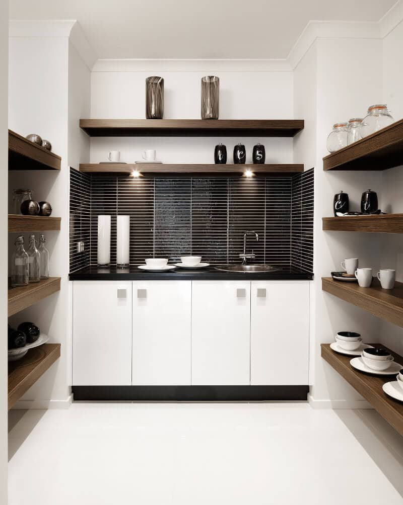 how to use and style your butlers pantry