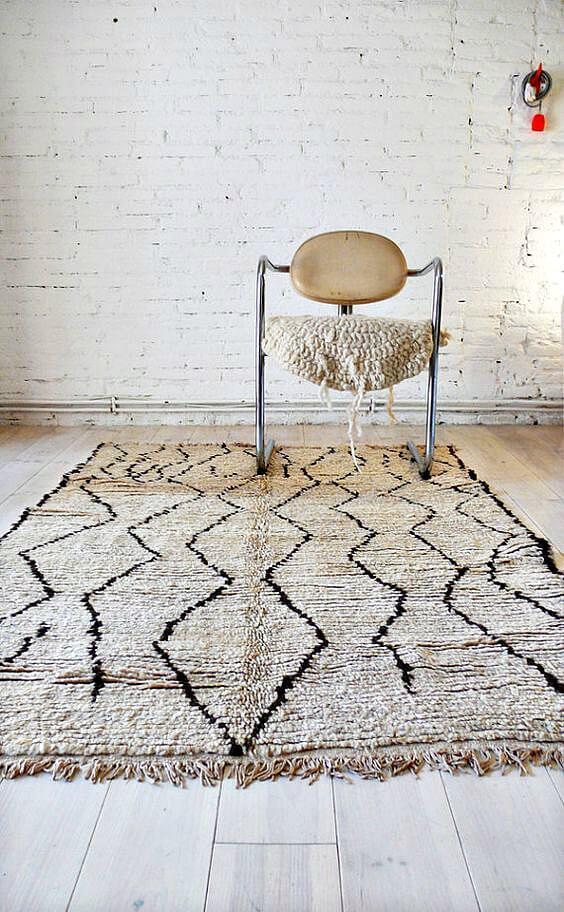 Boho rug kilim rug Boho Decorating ideas on The Life Creative