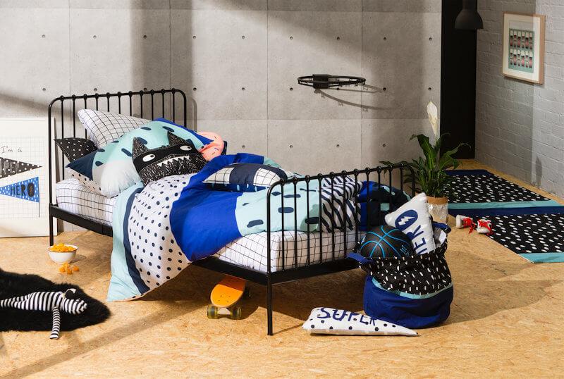Boys Bedroom Ideas from Cotton On Kids on TLC Interiors