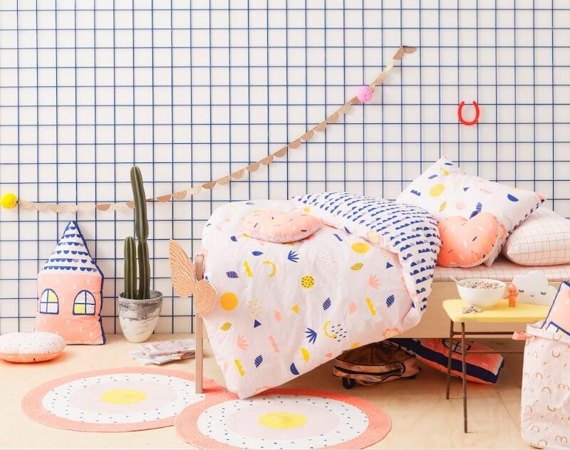 Cotton On Kids Bedding Girls Room Ideas on TLC Interiors