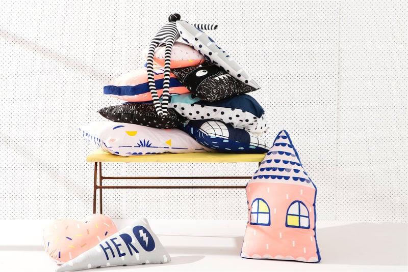 Cotton On Kids Cushions on TLC Interiors Kids room Ideas