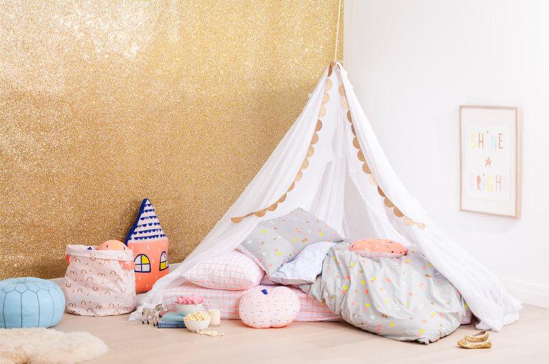 Cotton On Kids Teepee and Girls Bedroom Ideas on TLC Interiors