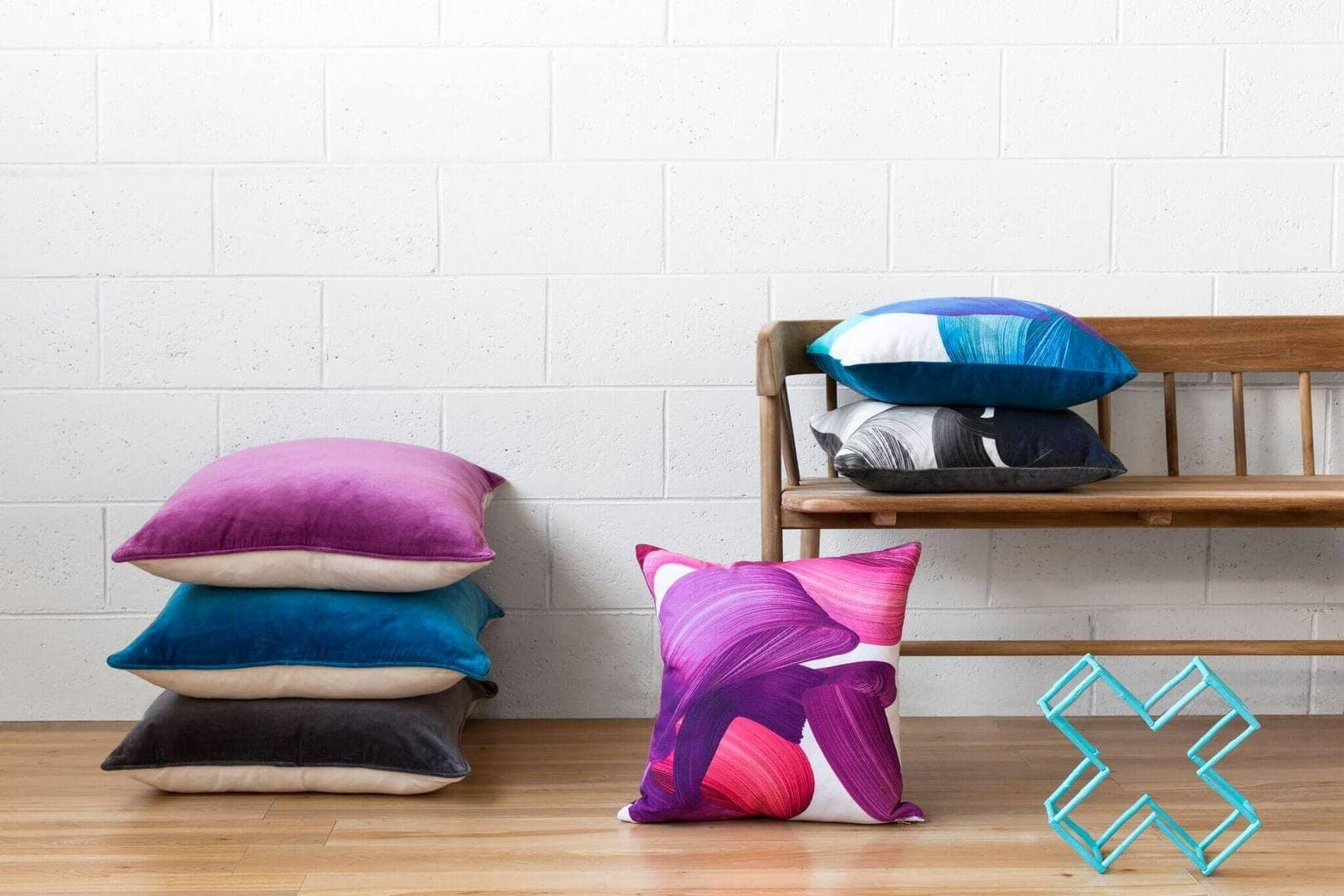 Cushions by Squeak Design on The Life Creative