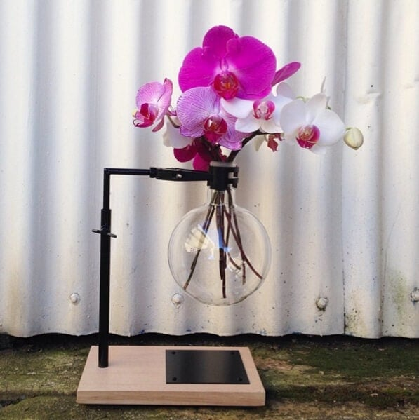 Flower Styling Ideas Pink Orchid in Oil Burner on The Life Creative
