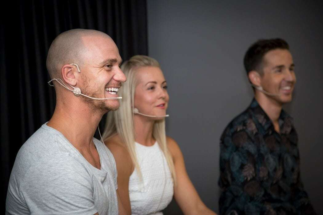 Melbourne events at Metricon Homes with Kyal and Kara and The Life Creative