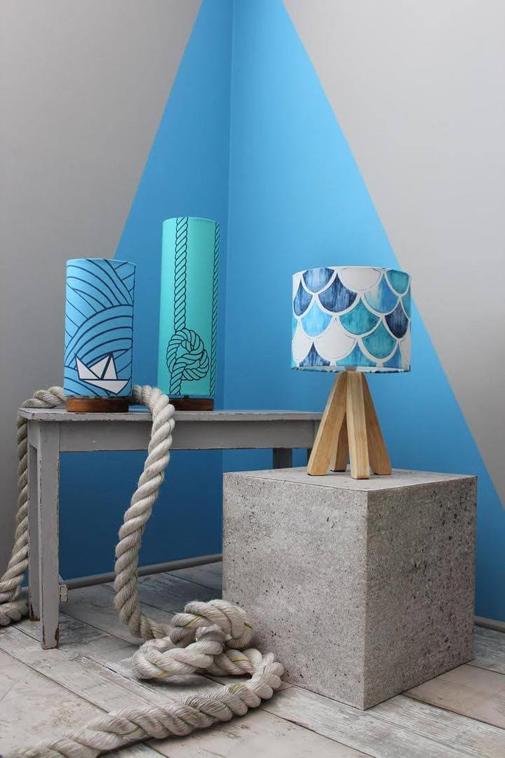 Nautical Inspired Lamp Range by Tim Neve on The Life Creative Blog