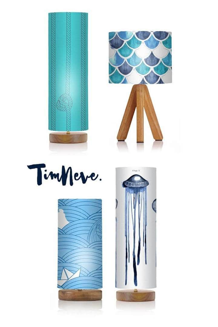 Nautical Lamps by Tim Neve on The Life Creative