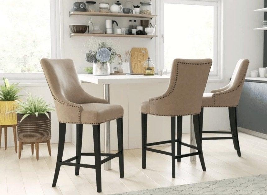 Zoe bar stool from Brosa