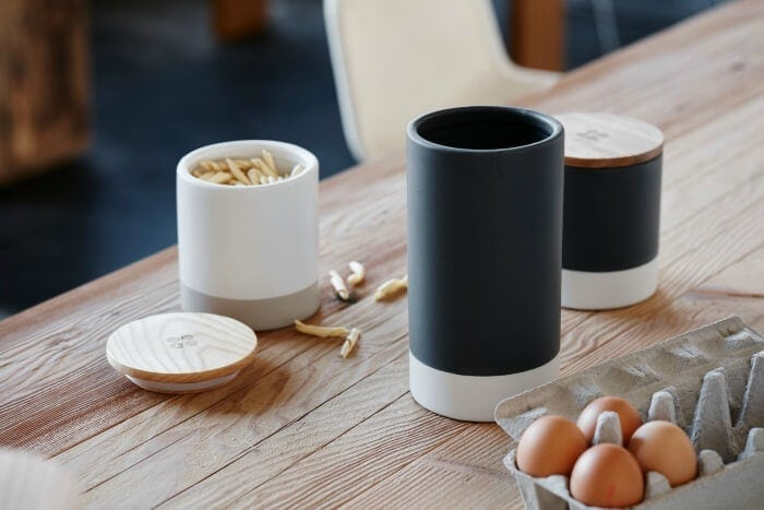 Black Canisters from Cotton On and Mark Tuckey The Life Creative
