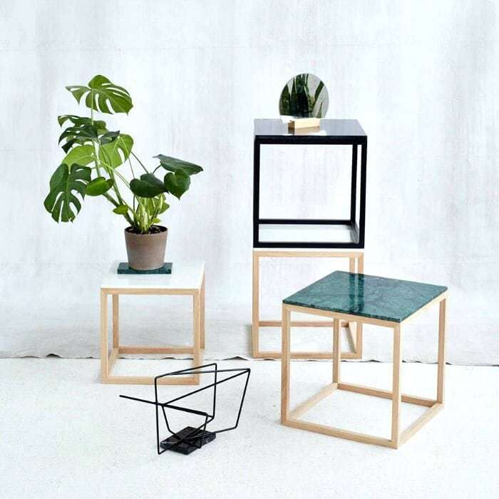 Colour Marble Side Tables by Kristina Dam The Life Creative