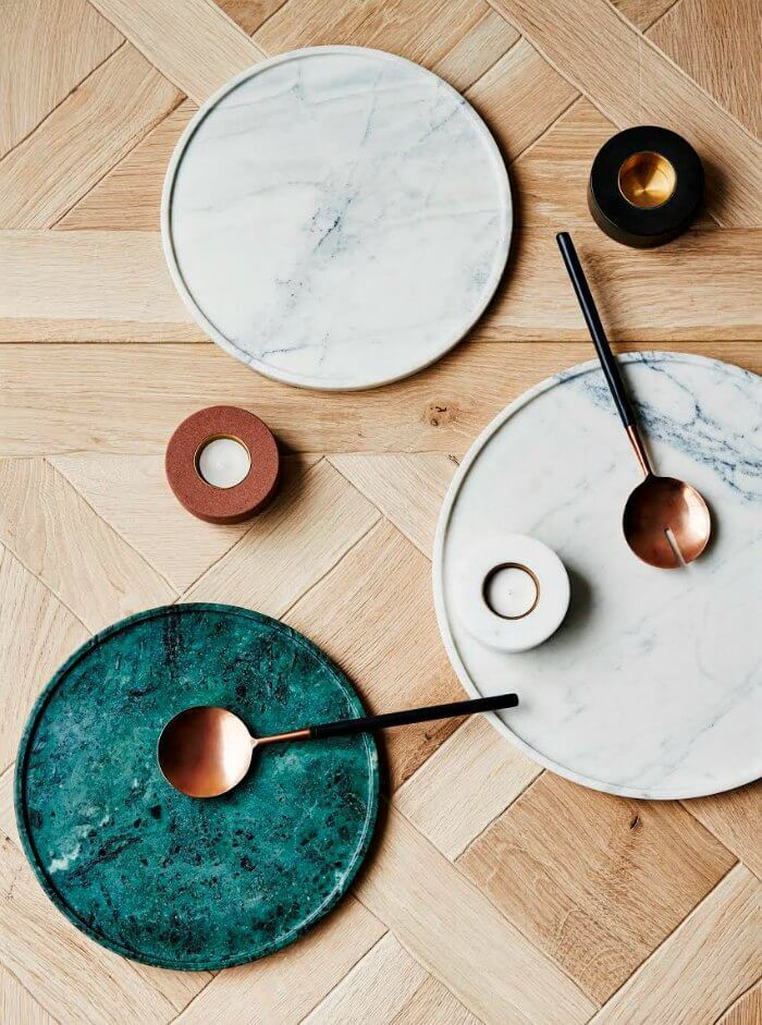 Coloured Marble Country Road Green Marble Tray The Life Creative