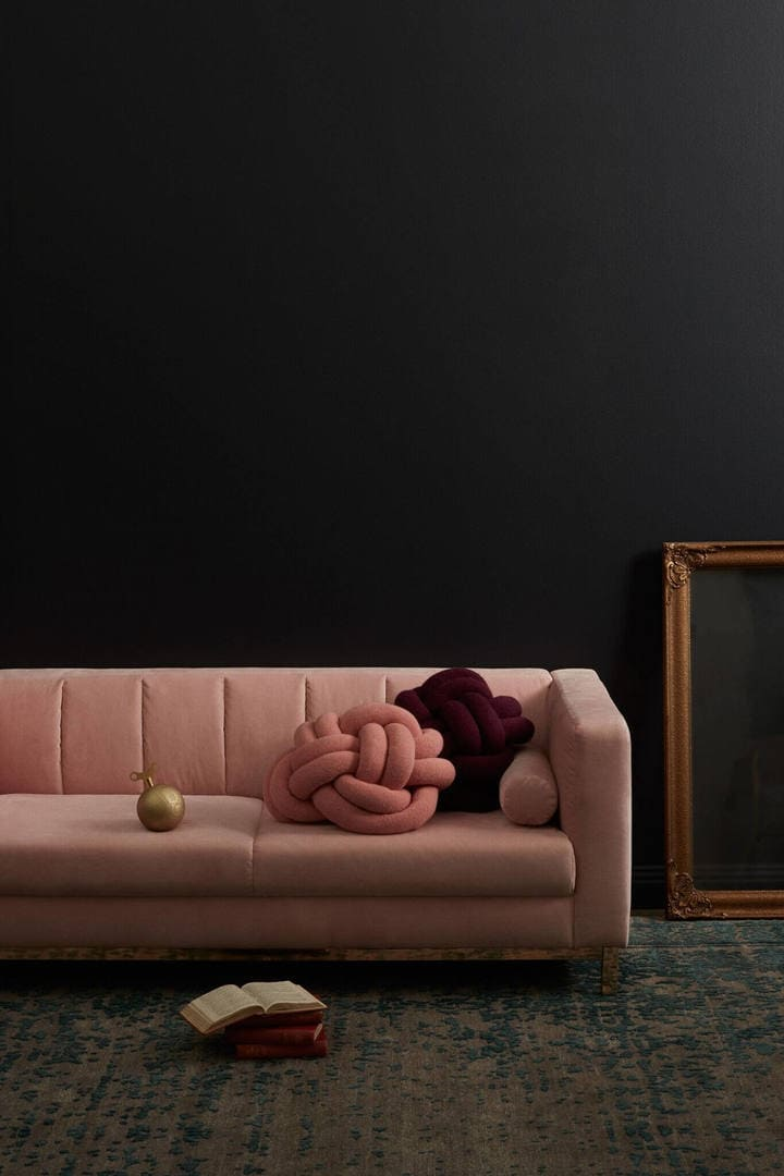 Incy Interiors Pink Velvet sofa The Life Creative