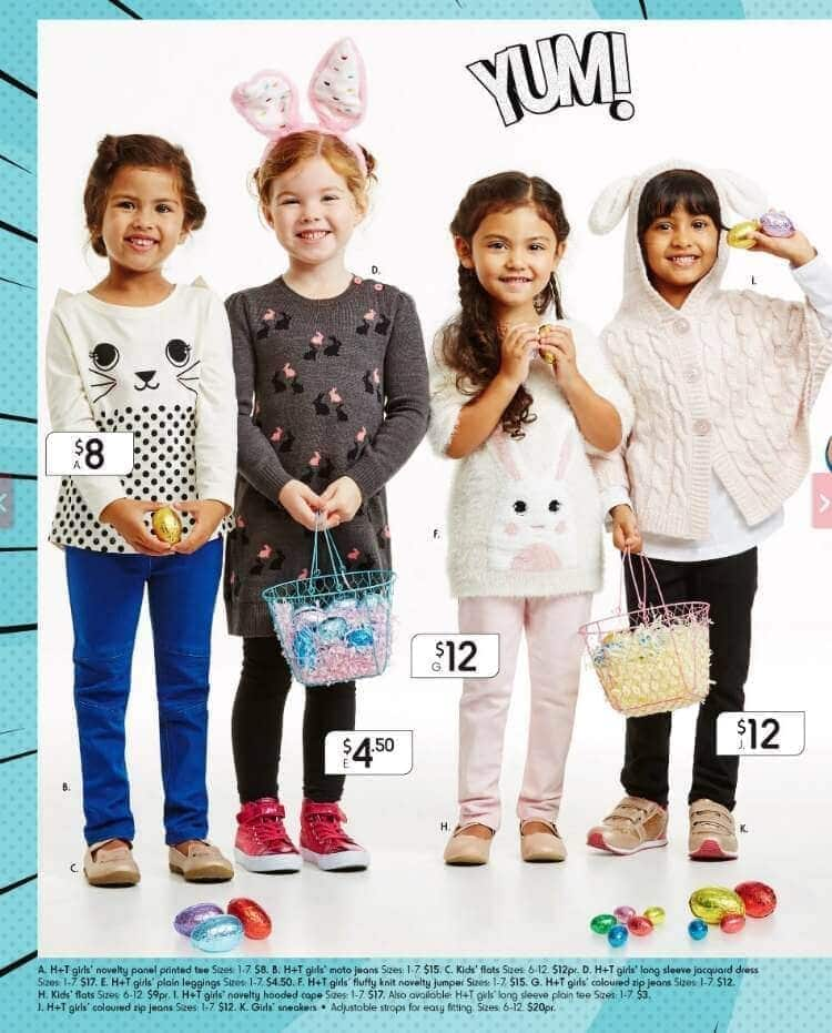 Kmart Australia catalogue with girls clothing The Life Creative