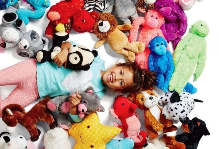 Kmart Australia catalogue with kids plush toys on TLC Interiors