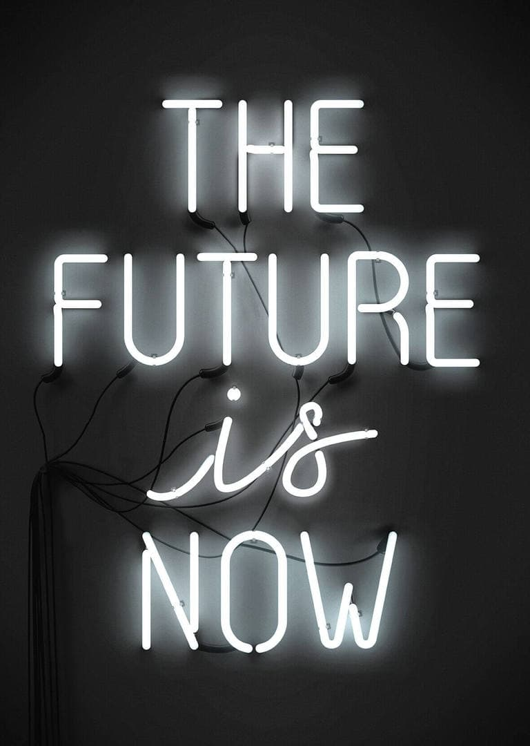 The future is now print by Blacklist Store The Life Creative