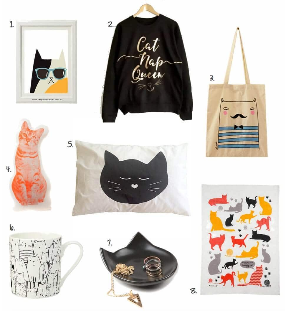 cat decor on The Life Creative blog