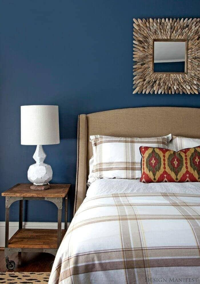 7 bedroom paint colours that look amazing - Blue bedroom paint ideas ...