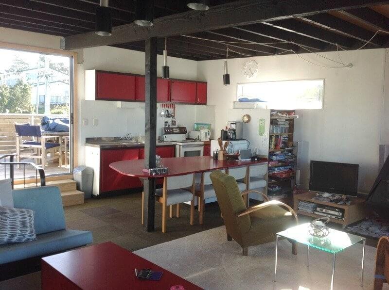 red kitchen ideas coastal kitchen renovation on The Life Creative