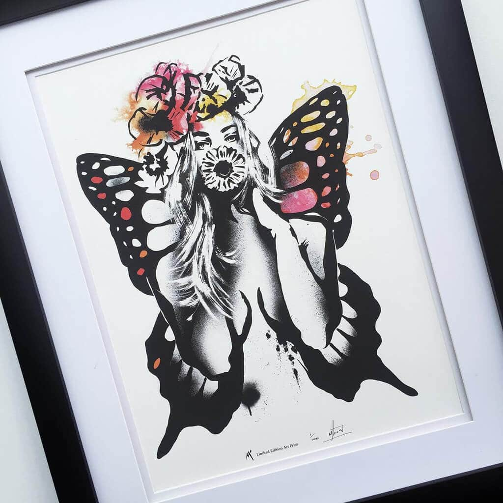 Beauty_with_Butterfly_Wings_Art_by_Matt_Stewart_The_Life_Creative