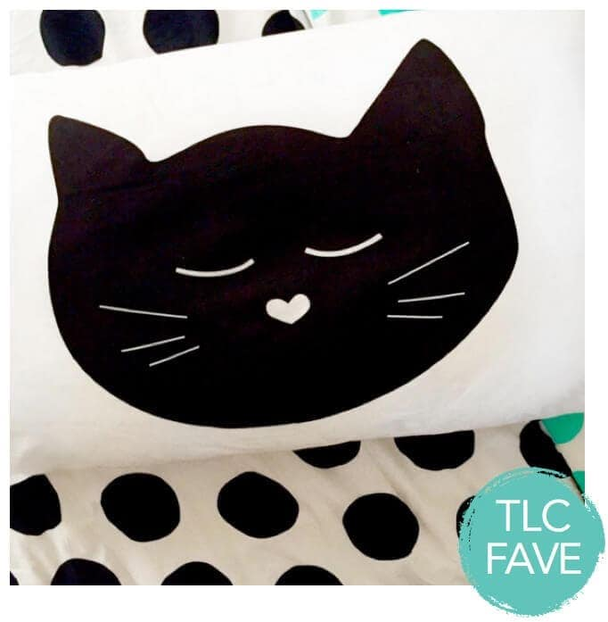 Catnap pillowcase by My Sweet Prints The Life Creative