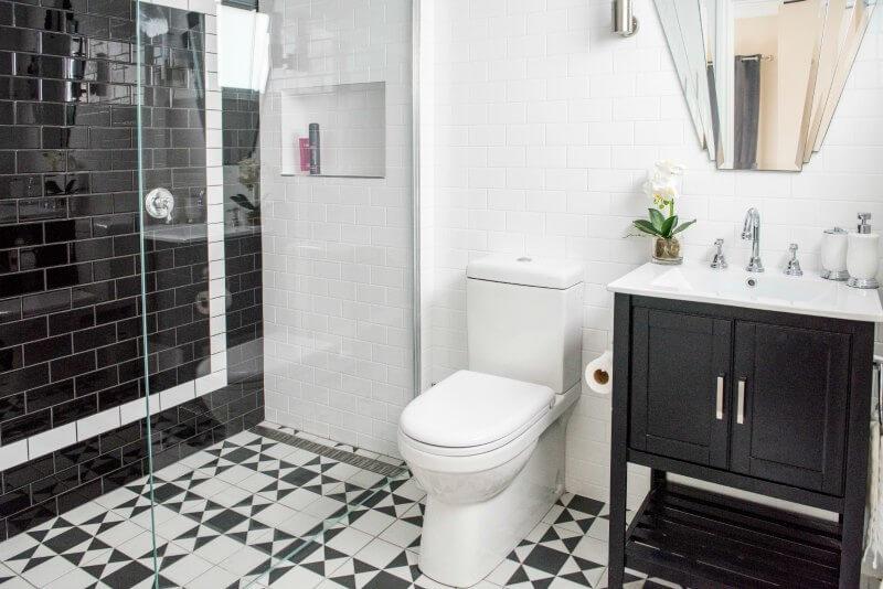 House Rules 2016 Fil and Joe bathroom makeover The Life Creative