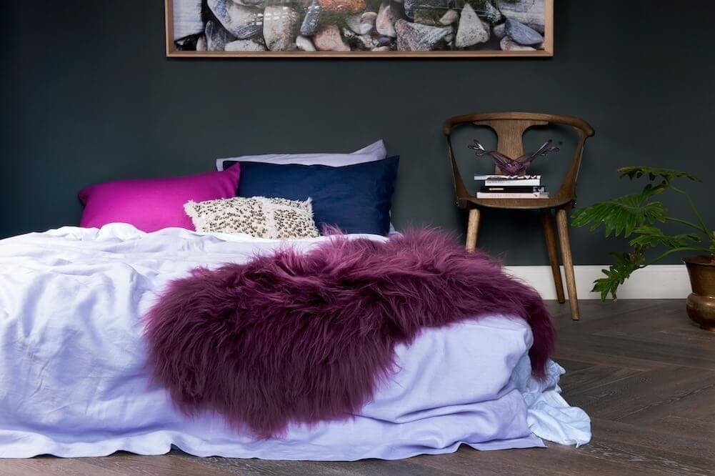 Icelandic Sheepskin by Society of Wanderers Greenhouse Interiors on TLC Interiors
