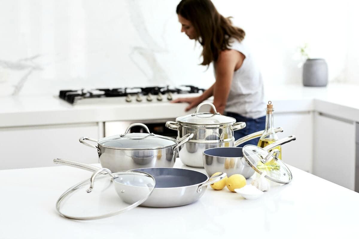 Lorraine Lea Ceramic Cookware Pot Set TLC Interiors