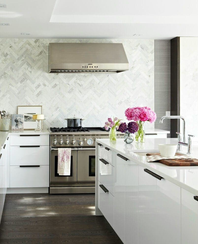 Marble Herrington Tiles Kitchen Tiles Splashback The Life Creative