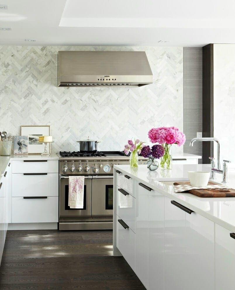 Marble Herrington Tiles Kitchen Tiles Splashback The Life Creative