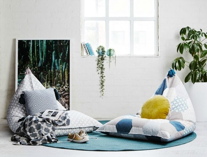 Sage and Clare Beanbags The Atlas Collection on The Life Creative