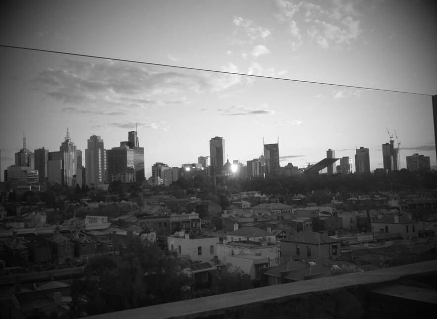 View from Naked in the Sky Naked for Satan Fitzroy The Life Creative living in Melbourne