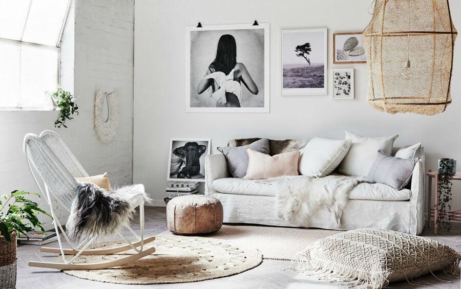 Boho Scandi Living Room on The Life Creative Norsu Interiors 2016 Range