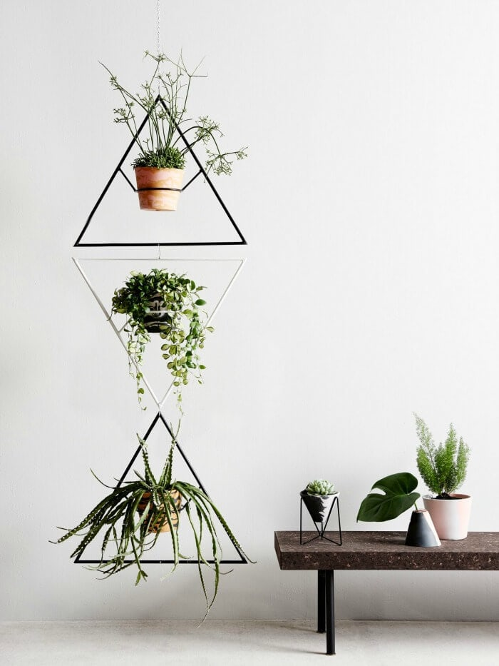 Capra Designs Plant hangers and pots on The Life Creative
