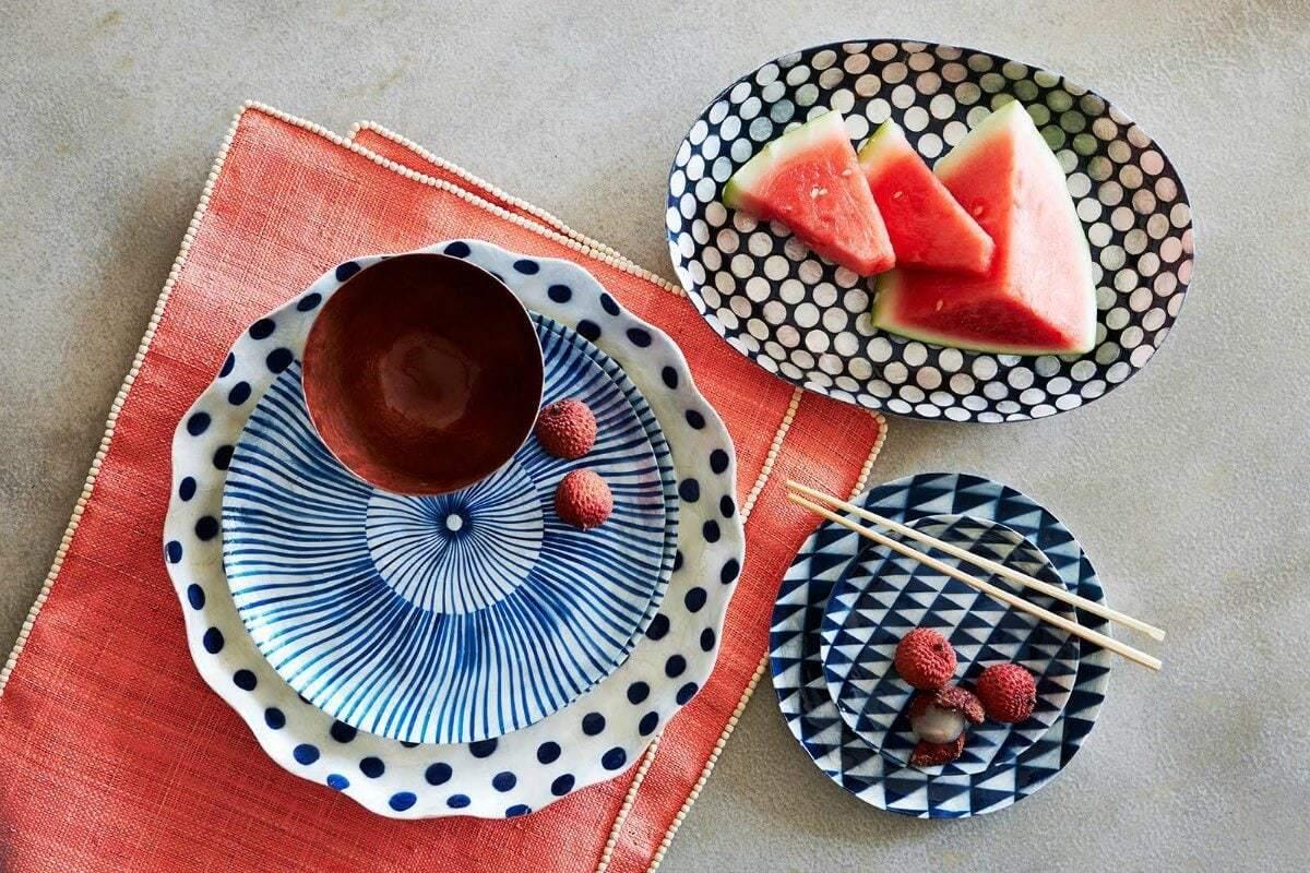 Handmade capiz servingware from Lucky Ocean Club Tableware on The Life Creative
