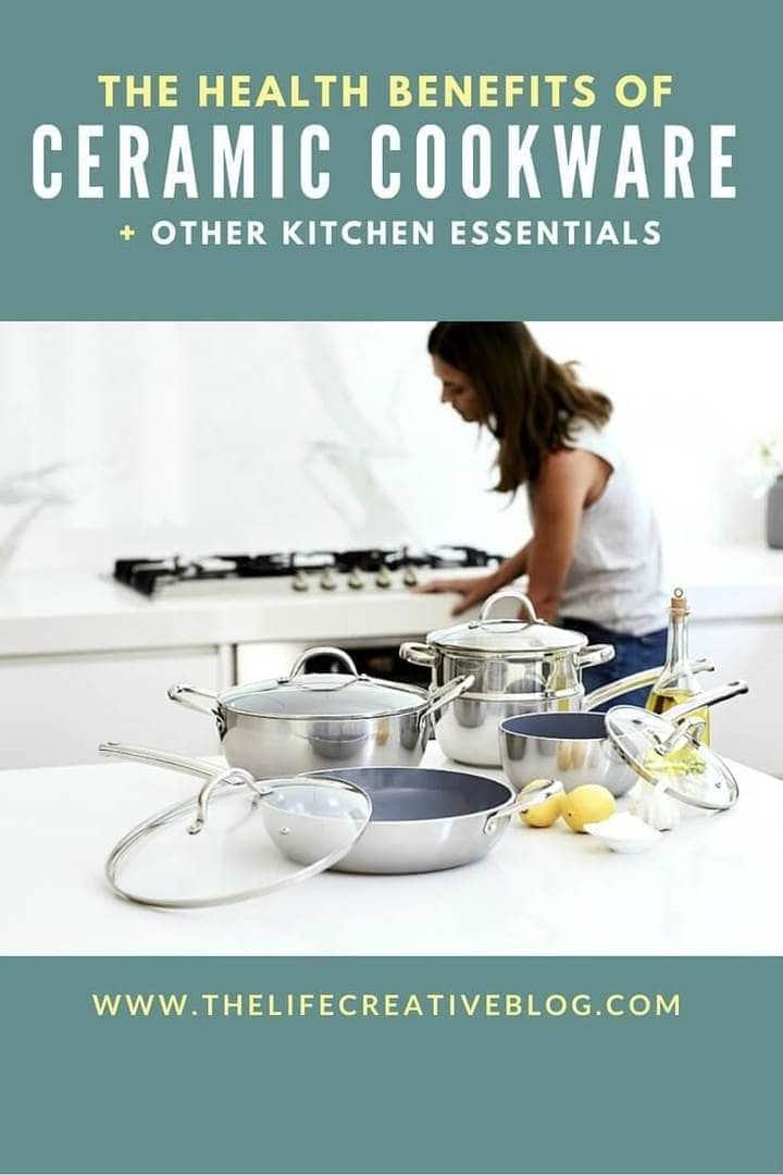 Health Benefits of Ceramic Cookware The Life Creative