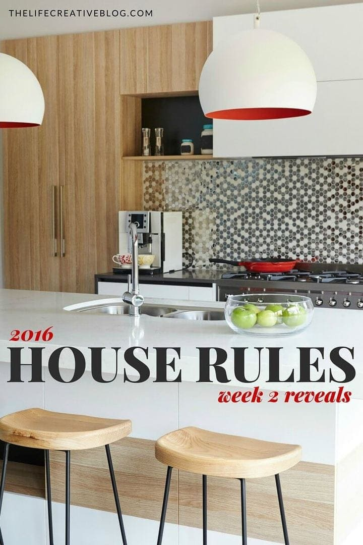House Rules 2016 week 2 reveal Belinda and Michelle The Life Creative